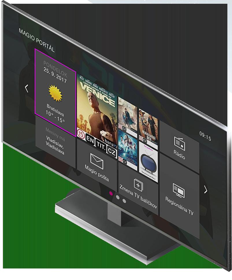 b59d49e89 Magio TV - najlepšia televízia - Telekom