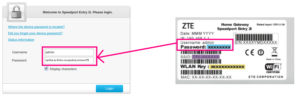 ZTE_ENTRY_II login