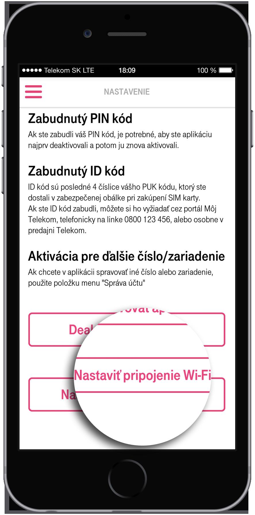 0fa926e6d Kliknite na Nastaviť pripojenie Wi-Fi.